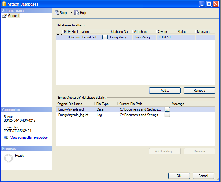 MDF Extension SQL Recovery 4 8